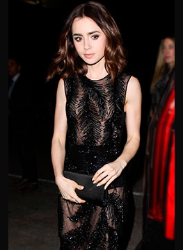 Lily Collins thumb